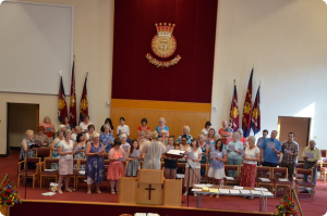 Community Gospel Choir practice